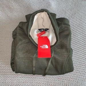 Fuzzy Cowl Neck North Face Sweatshirt